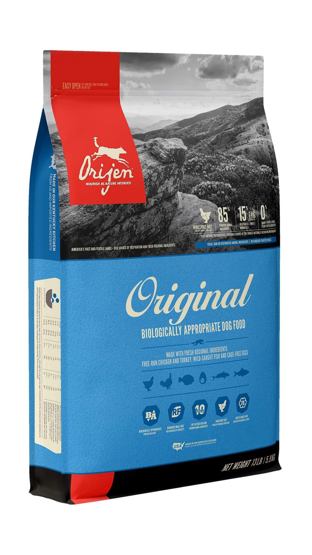 ORIJEN Dry Dog Food, Original, Biologically Appropriate & Grain Free by Orijen
