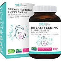 Organic Breastfeeding Supplement - Increase Milk Supply with Herbal Lactation Support - Aid for Mothers - Lactation…