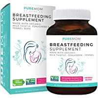 Organic Breastfeeding Supplement - Increase Milk Supply with Herbal Lactation Support...