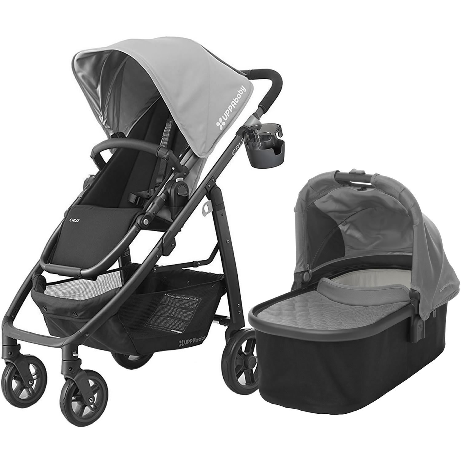 UPPAbaby 2017 Cruz Stroller with Bassinet, Pascal