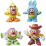 PLAYSKOOL Friends - TOY STORY - Mr Potato Head Playset - With Buzz Lightyear, Woody, Ducky & Bunny - Disney - Kids Toys - Ages 2+