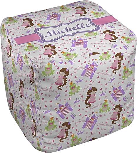Amazon.com: Princesa Impresión Puff cubeta otomana ...