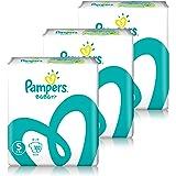 【Amazon.co.jp限定】 【ケース販売】 パンパース オムツ テープ さらさらケア S(4~8kg) 306枚 (102枚×3パック)