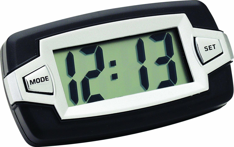 2 Bell Automotive 22-1-37007-8 Jumbo LCD Clock