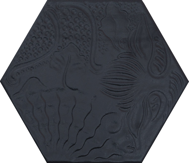 Diese Bodenfliesen Aphrodite schwarz im Format 25x25cm aus Feinsteinzeug eignen sich auch als Wandfliesen und zaubern in jeden Raum ein modernes Ambiente zum Wohlf/ühlen 1m/²