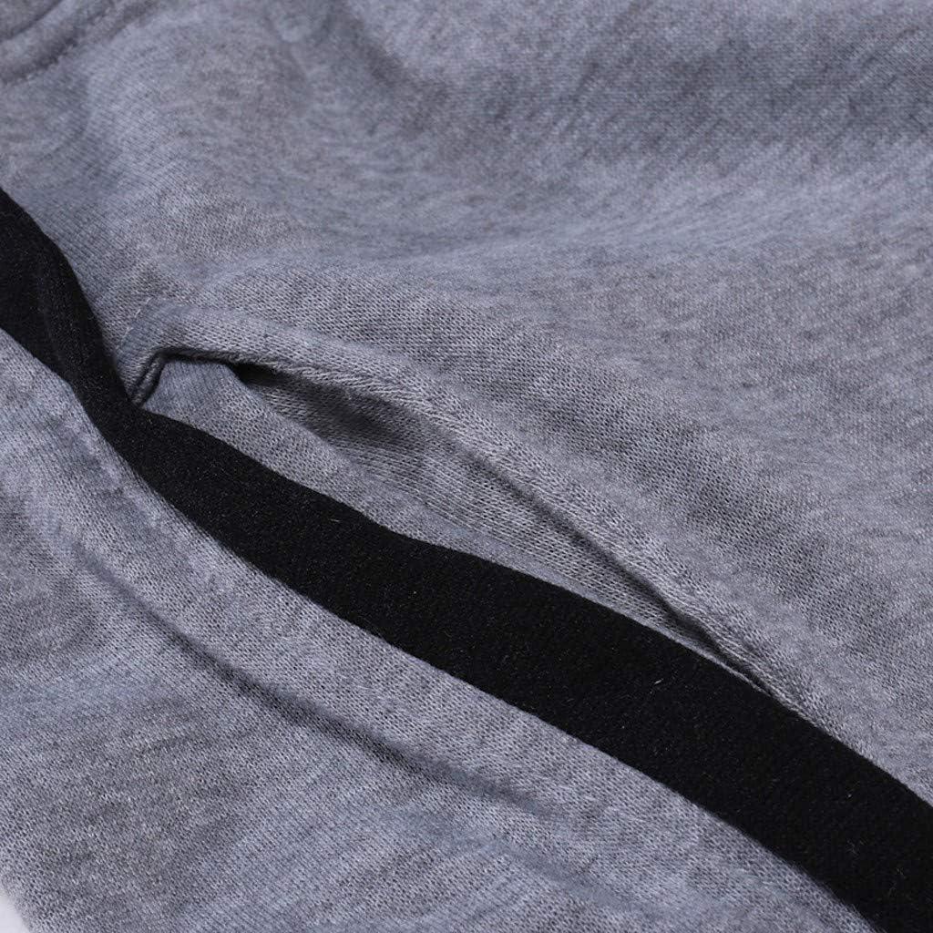 Automne JUTOO Pantalon de Jogging /à Cordon Coulissant d/écontract/é pour Homme