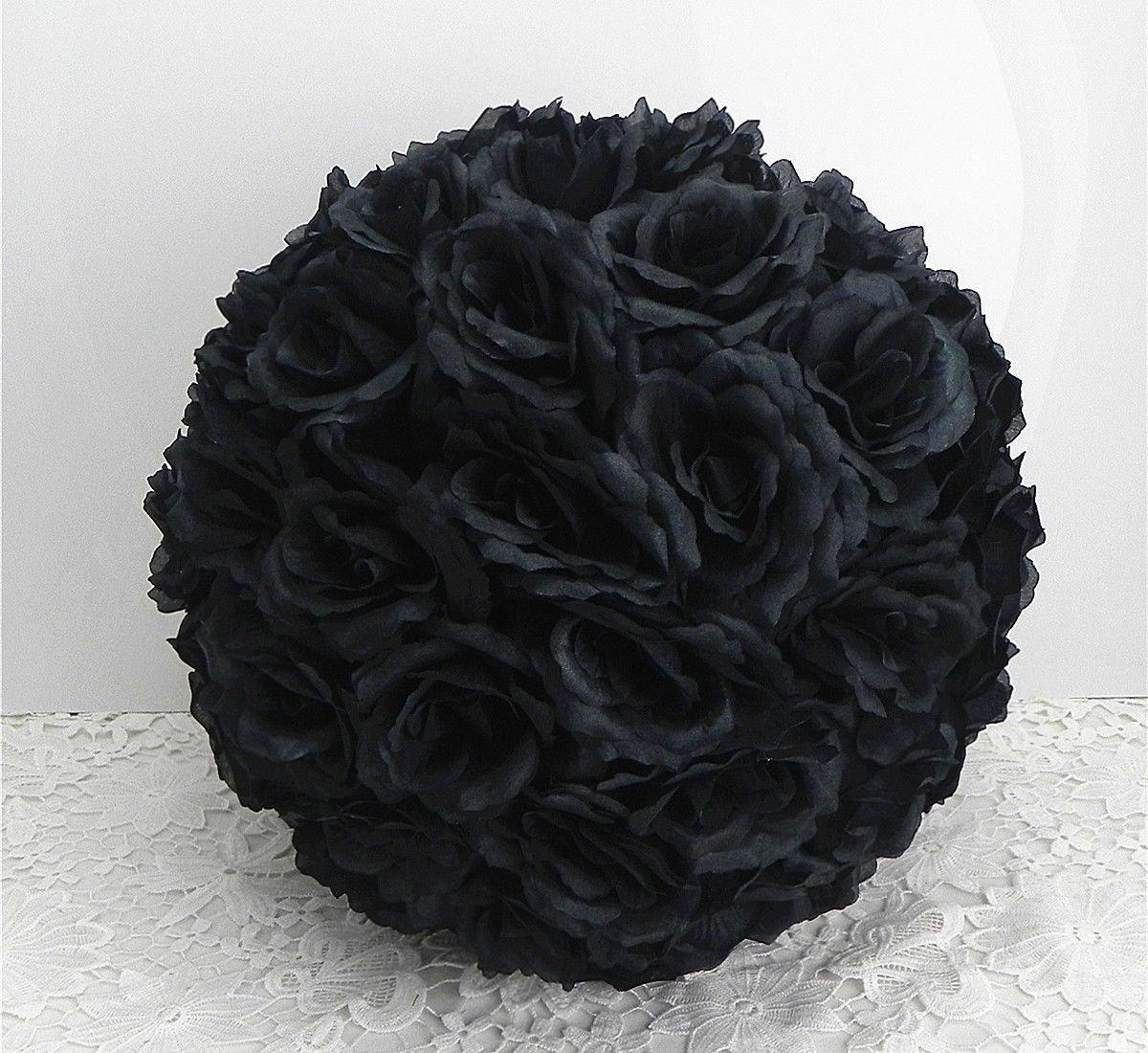 DIY-25-Colors-Rose-Pomander-Flower-Kissing-Ball-Parts-Wedding-Home-Decoration-Black-ball-parts-15cm-59