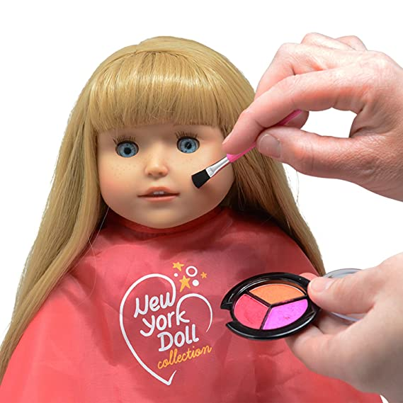 c022f4c3ef30b Amazon.com: Washable Makeup set for Dolls and Kids - pretend play Cosmetic  Set: Toys & Games
