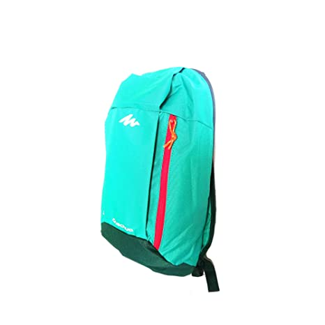 76d4b20c973e Quechua Arpenaz Hiking Backpack 10 L ( Mint Green)  Amazon.in  Bags ...
