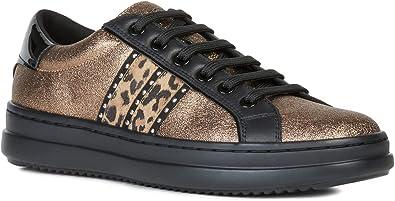 Validación al exilio precio  Geox Mujer Zapatos de Cordones PONTOISE, señora Calzado Deportivo ...