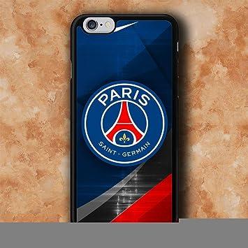 WEMNCVR PSG Logo Paris SG Cas de téléphone Portable pour Coque iPhone 7 Plus/iPhone 8 Plus