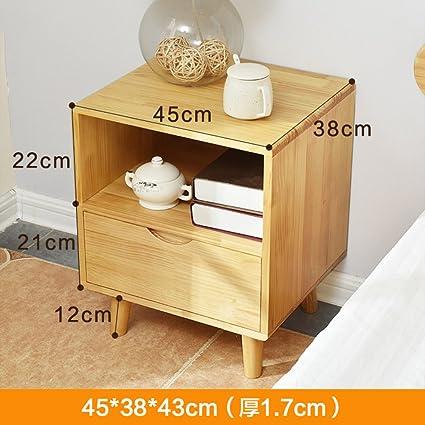 Amazon.com: GFYRHCGDFHJDGVF Nordic Drawer Bedside Cabinet Small ...