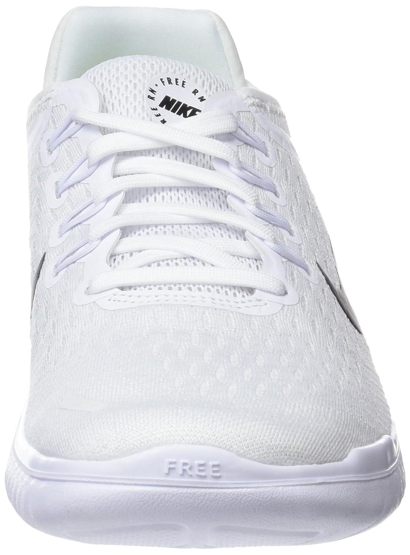 NIKE Women's Free RN 2018 B(M) Running Shoe B075ZYR87F 7.5 B(M) 2018 US|White/Black b4dd43