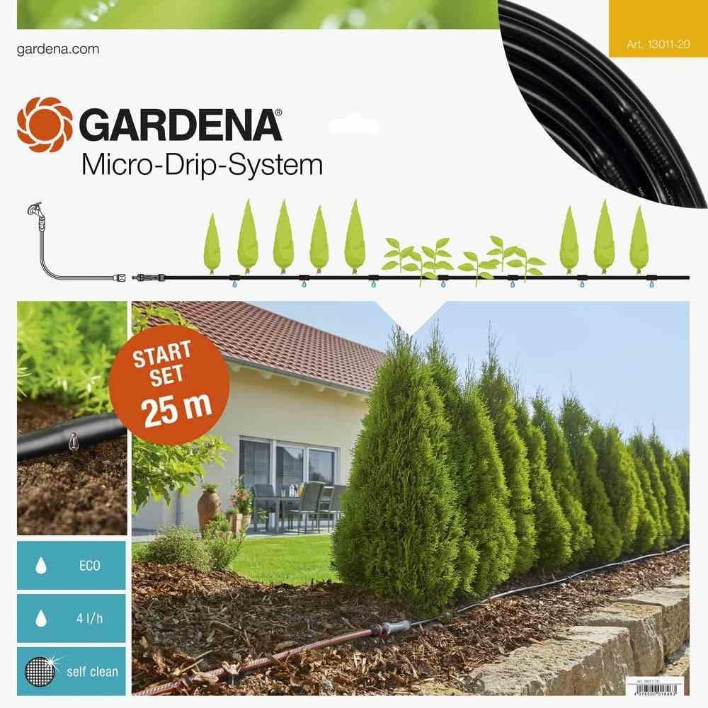 13131-20 Gardena Erweiterung Tropfrohr f/ür Pflanzreihen oberirdisch 13 mm 1//2 Zoll : Micro-Drip-System-Verl/ängerung 25 m f/ür Start Sets Pflanzreihen