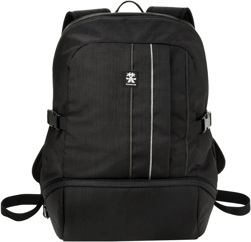 Verdulero Política plan de estudios  Crumpler Jackpack Half Photo Backpack - Black/Grey: Amazon.co.uk: Camera &  Photo