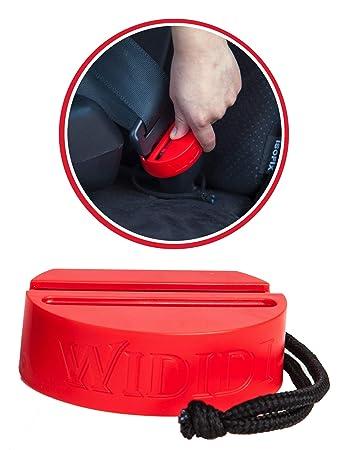 Verschlussclip f/ür die meisten Automodelle Ultimative Sicherheit einfach zu installierender Kunststoff-Gurtschutz 2-Stuck Autositz-Schnallenschutz f/ür die Sicherheit von Babys und Kleinkindern