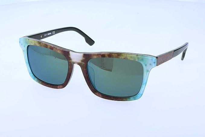 Diesel Gafas de sol, Marrón (Brown), 55.0 Unisex Adulto ...