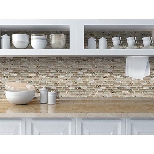 pvc 3d wandplatte 955x480mm küche bad le deko mosaik