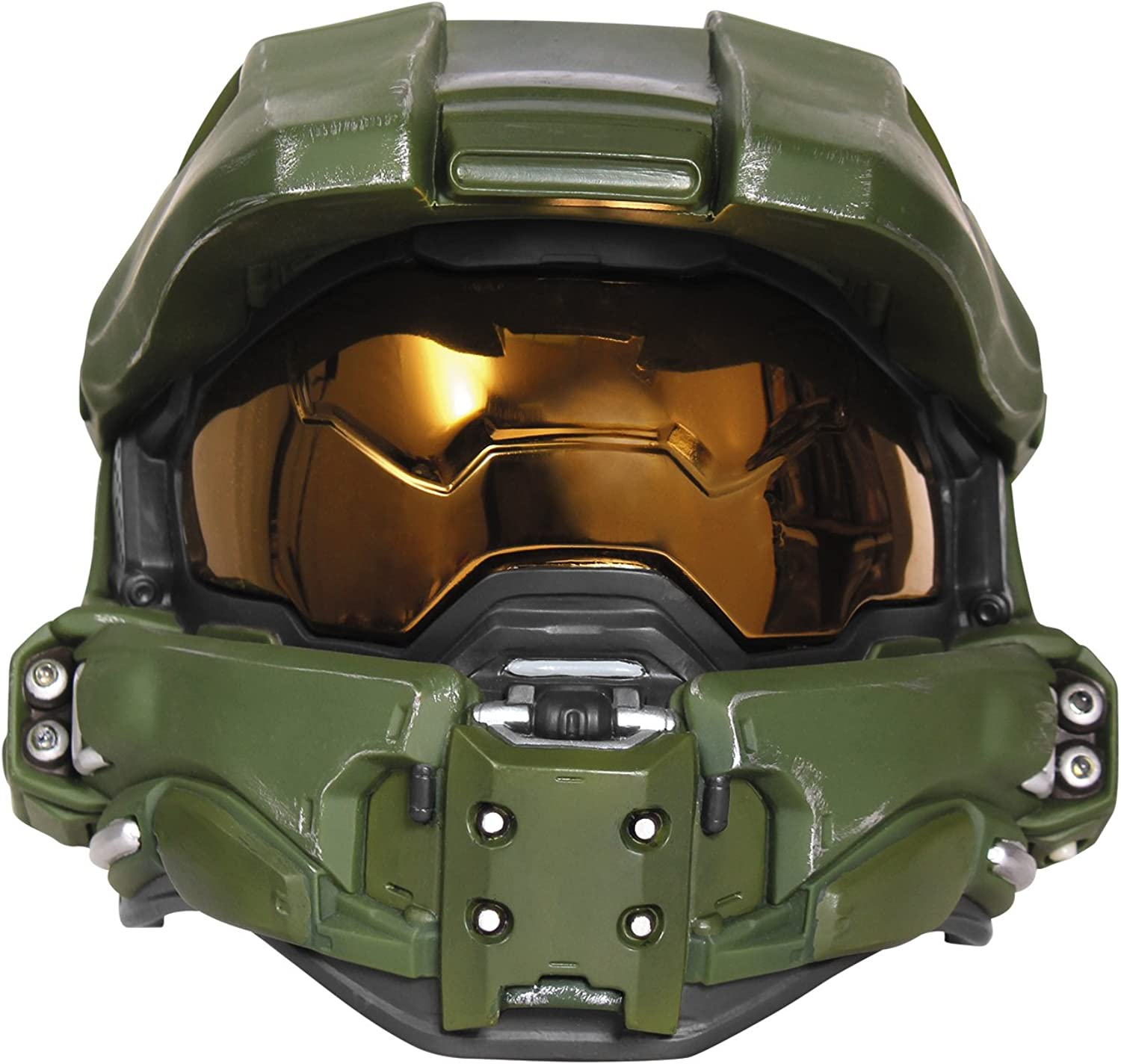 Child Boys Deluxe Master Chief Light-Up Helmet Halloween Costume Accessory