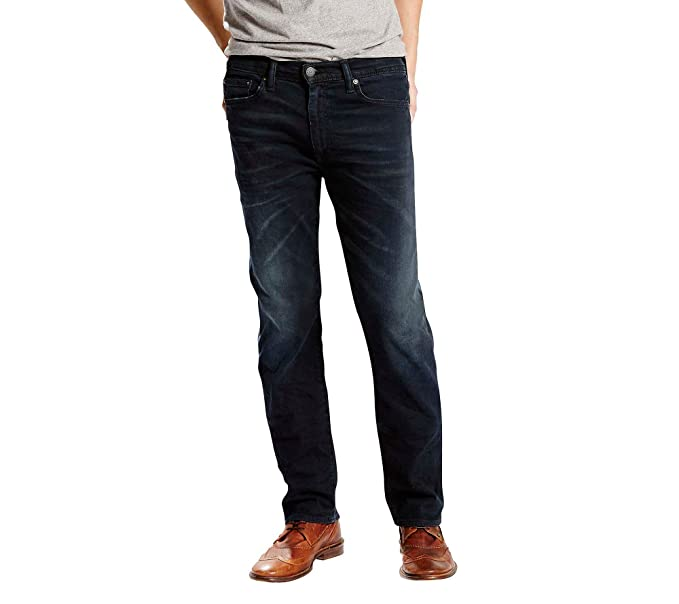 42419f816cd Levi's Men's 513 Slim Straight Jeans Scorpius 40x34: Amazon.ca ...