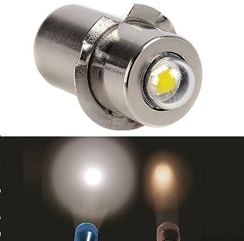 Mulang - Bombilla LED de alta potencia PRP13.5S 3 W 240 LM DC 4