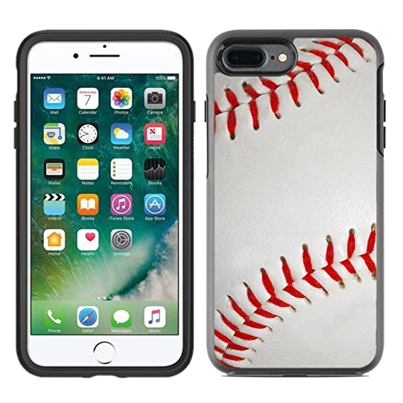 premium selection ae8cc afc95 Protective Designer Vinyl Skin Decals/Stickers for OtterBox Symmetry iPhone  8 Plus/iPhone 7 Plus Case - Baseball Design Patterns - Only Skins and NOT  ...