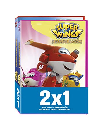 Pack - Super Wings: ¡Transformacion! / ¡Paquete Para Entregar! DVD: Amazon.es: Benjie Randall: Cine y Series TV