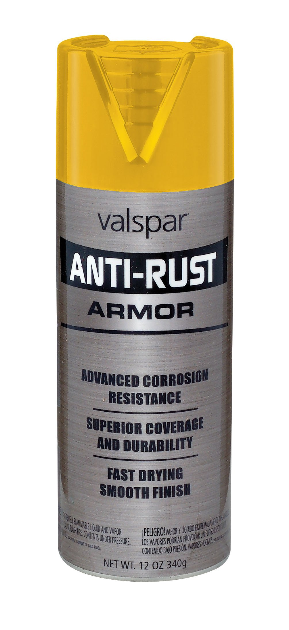 Valspar 21945 Gloss Safety Yellow Enamel - 12 oz.