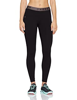 1813a161d3 Amazon.com : Under Armour Women's Heatgear Armour Leggings : Clothing