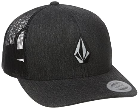 1684cff3 Amazon.com: Volcom Men's Full Stone Cheese Hat Charcoal Heather ...