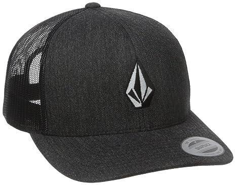 Amazon.com  Volcom Men s Full Stone Cheese Hat Charcoal Heather ... 04cf856052db