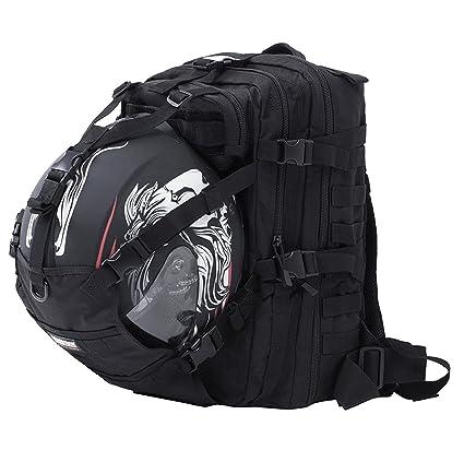 a2c734145b Seibertron Waterproof Large Capacity Molle Motorcycle Helmet Holder Cycling  Helmet Storage Hiking Helmetcatch Bag