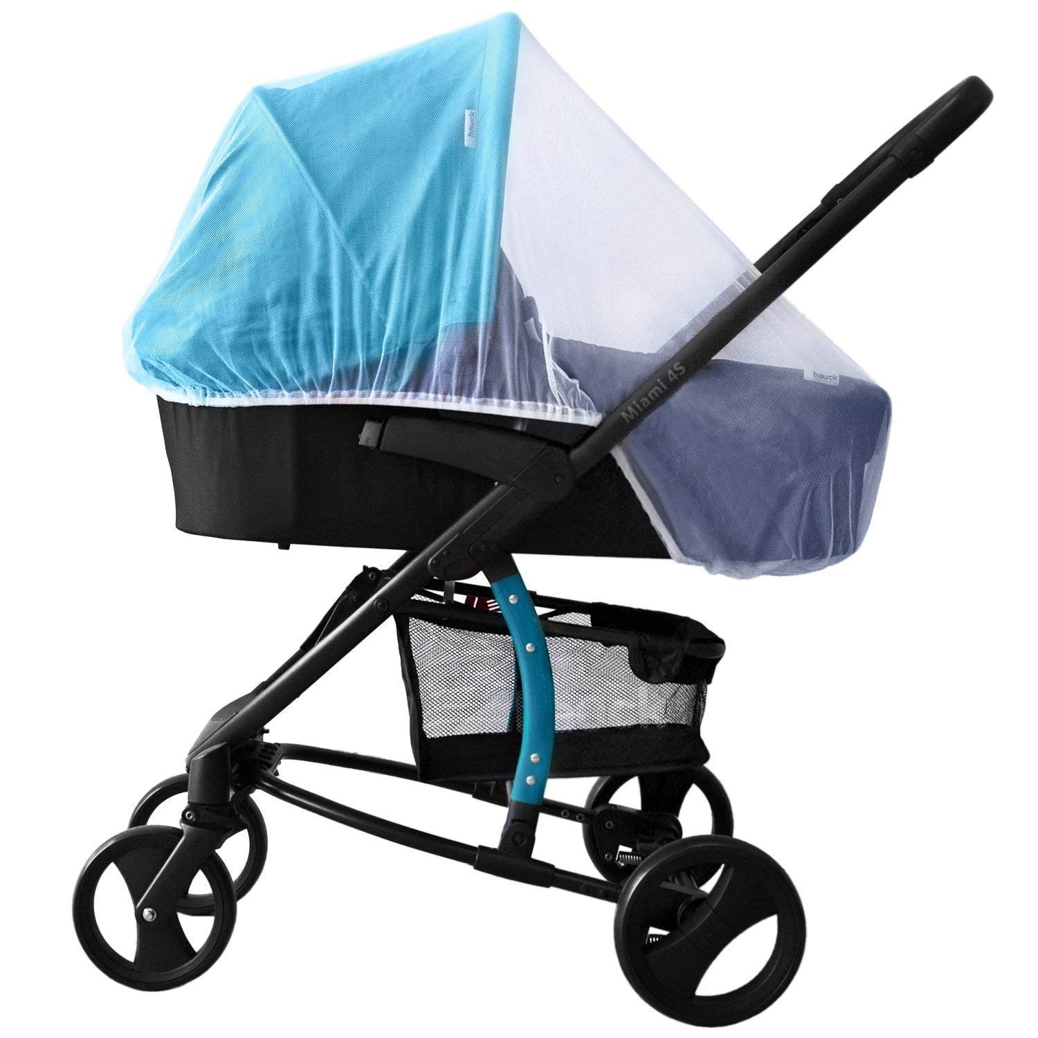 Mosquito Net /& Rain Cover for Stroller 2 Piece Set Stroller Rain Cover Waterproof /& Baby Mosquito Net Universal for Baby Seat,Crib,Bassinet,Carriers Breathable,Waterproof