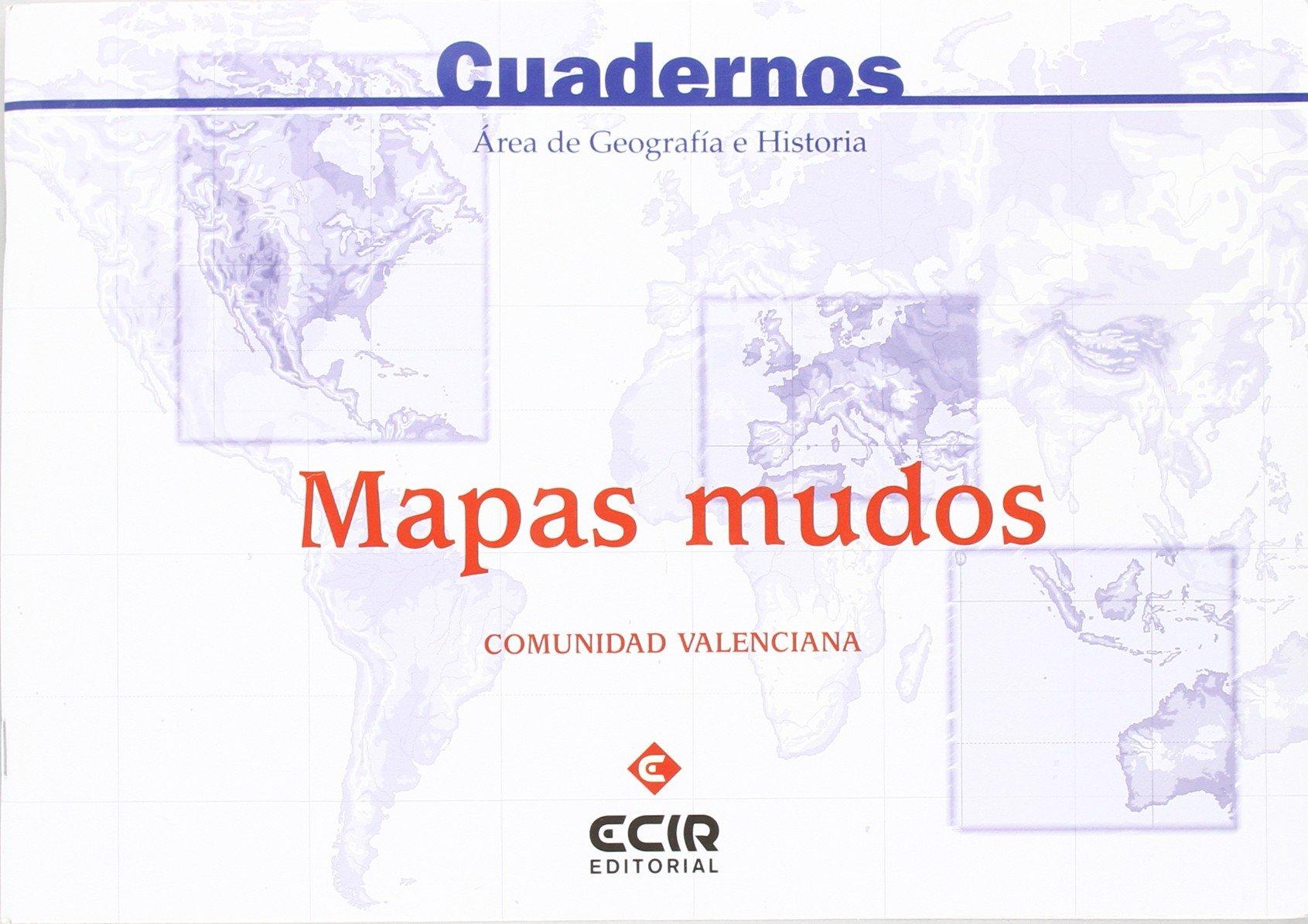 E:Mapas mudos (C. Valenciana): Amazon.es: Eugenio Garcia Y Otros ...