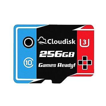 Games Ready 256GB Tarjeta Micro SD Tarjeta de Memoria UHS-3 ...