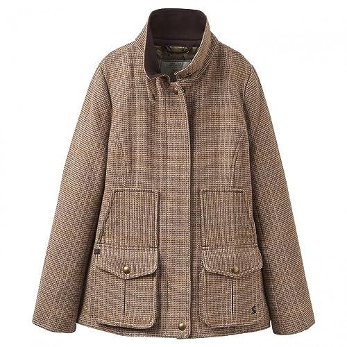 Joules Fieldcoat Tweed Womens Jacket (X)