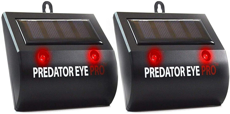 Aspectek Solar Powered Eye Pro Predator Deterrent Light
