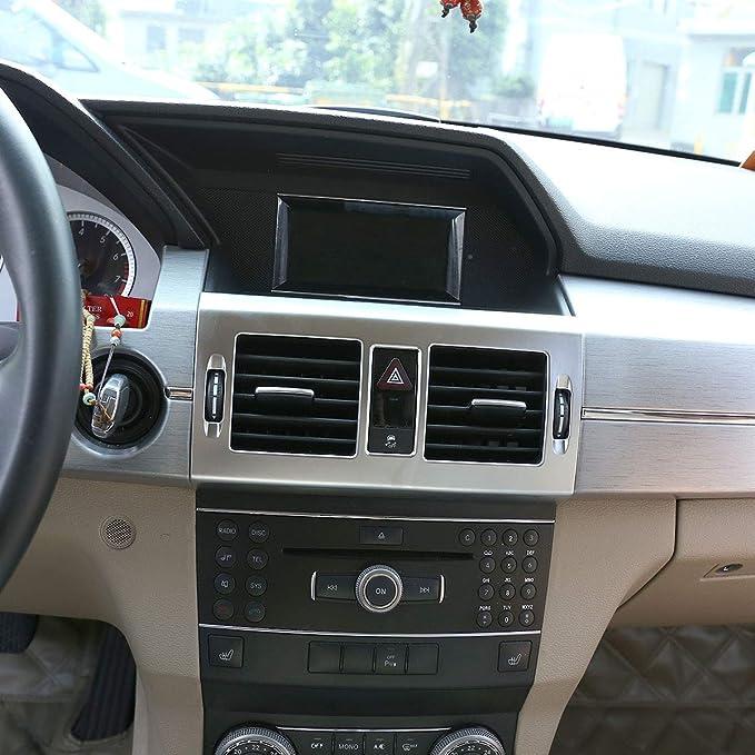 Marco de salida de aire acondicionado central ABS para GLK X204 Glk300 GLK260 2008-2012