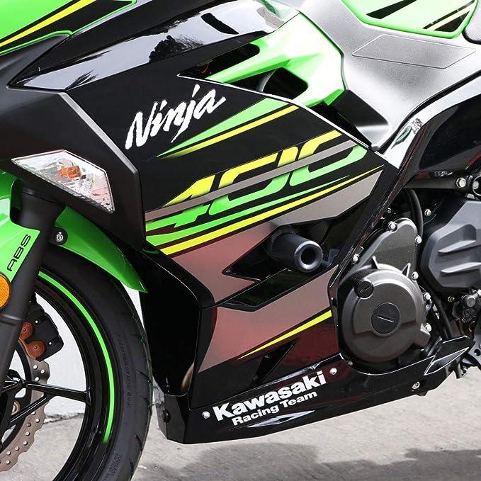 Black Motorcycle Aluminum Frame Slider Engine Guard Anti Crash Pad ...