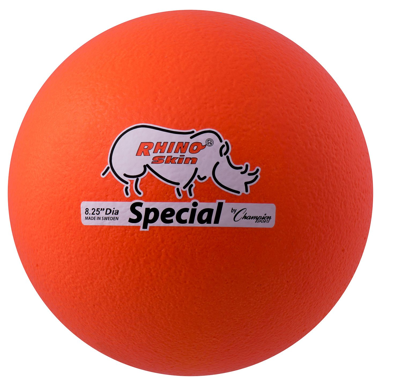 Champion Sports Rhino Skin Special Ball (Neon Orange)