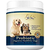 Probiotics for Dogs - Best Relief from Diarrhea Constipation Allergies Bad Breath Itching Gas & Shedding - Canine…