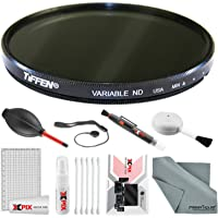 Tiffen 67mm Variable ND Filter with Xpix Photo Travel Deluxe Cleaning Kit