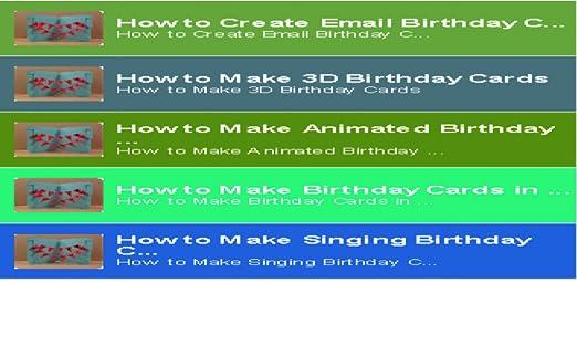 Amazon Birthday Cards CreateBirthday Create Appstore For Android