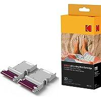 Kodak - Cartouche MC d'Impression Photo Mini, Tout-En-Un (Encre et Papier), Lot de 20, Compatible avec Appareil Photo Mini Shot, Imprimante Mini 2