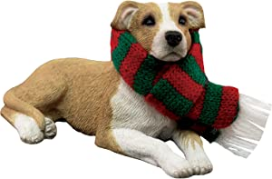 Sandicast Christmas Ornament, Fawn White