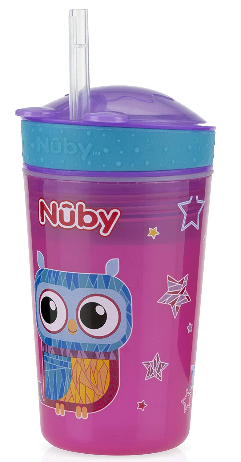 Pretty And Colorful Loyal Nuby Sipeez Toddler Drinking Cup 18 Months Baby