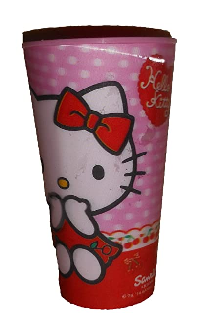 Efecto 3D Gran (15 cm) Vaso Hello Kitty