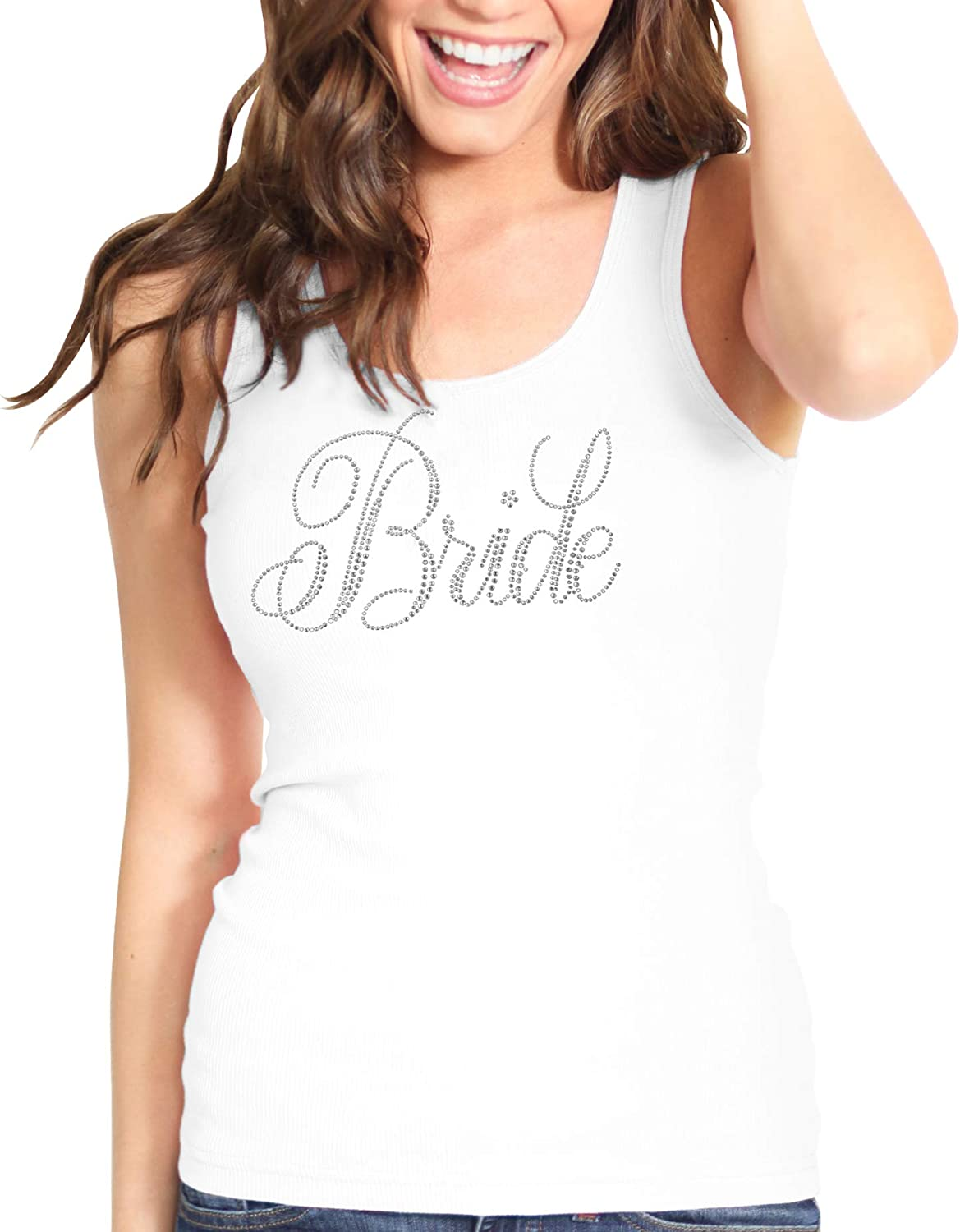 Bride & Bridal Tank Tops - Bridesmaid Maid of Honor Bachelorette Party Entourage Shirts