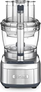 Cuisinart FP-13DSV Elemental 13 Cup Food Processor and Dicing Kit, Silver (Renewed)