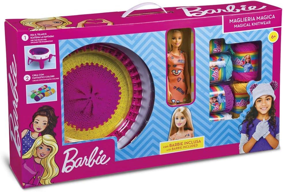 Amazon.es: Grandes Juegos gg00524-maglieria MÁGICA Barbie incluida ...